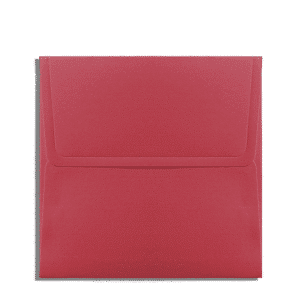 Rode envelop 20 x 20 cm
