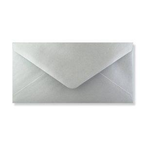 Zilver DL envelop achter